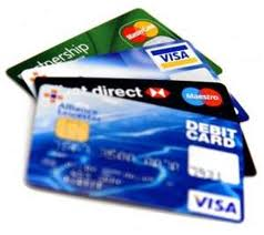Pay with Credit Cards, debit card